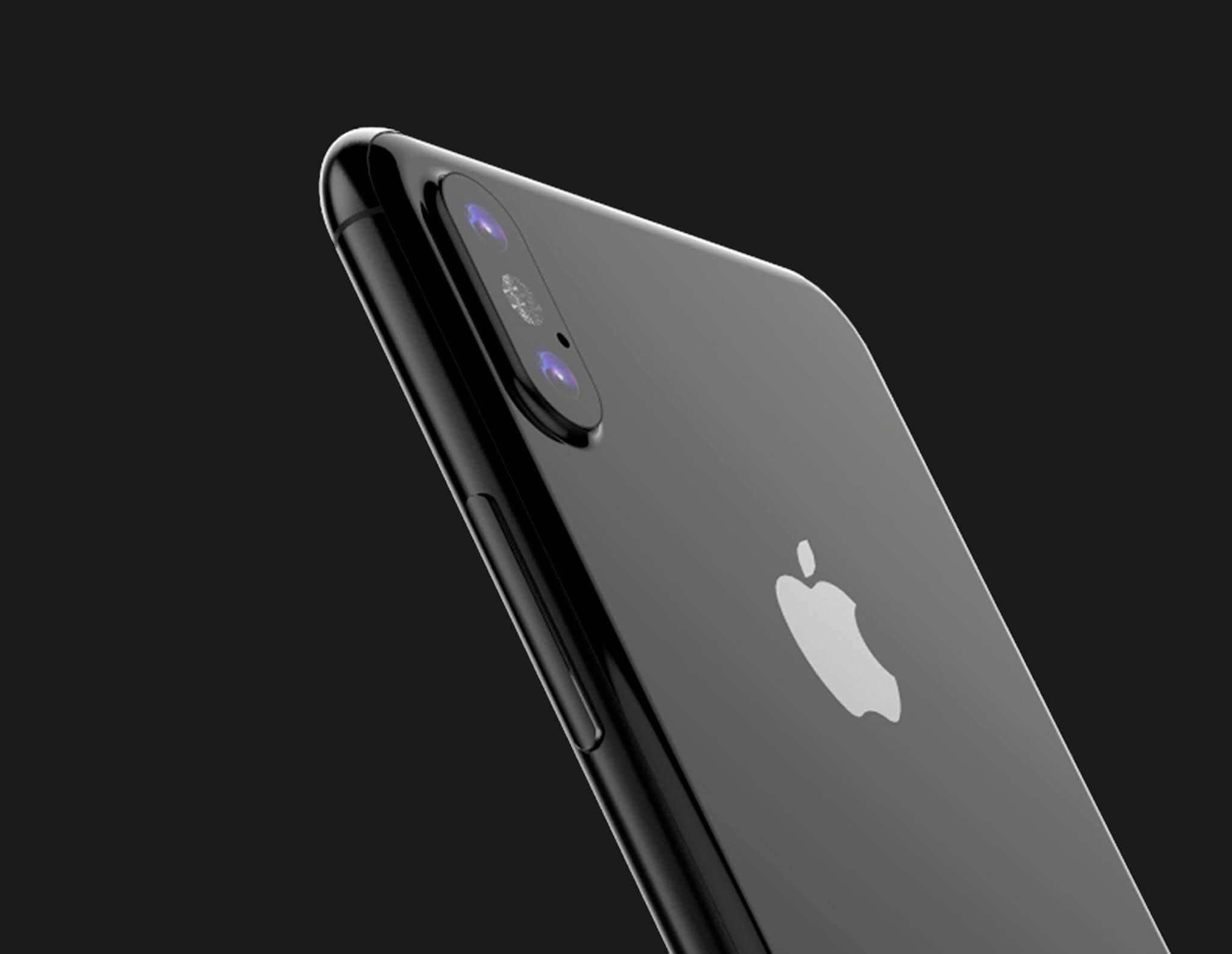 Черный Iphone 8 (серый космос)